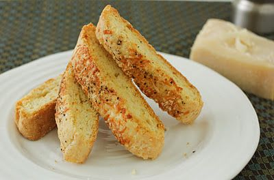 ... One Foodie's Culinary Adventures: Parmesan and Black Pepper Biscotti