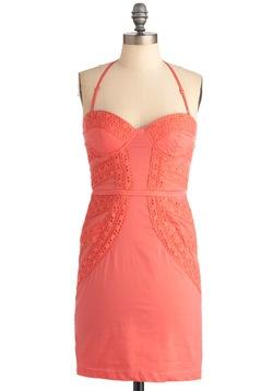 Have We Met? Coral dress
