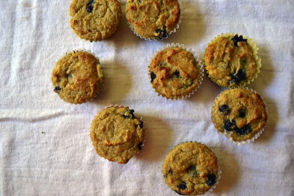 almond flour peach blueberry muffins...sounds incredible, love the ...