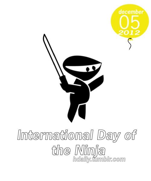 International Day of the Ninja   Get on the Calendar   Pinterest