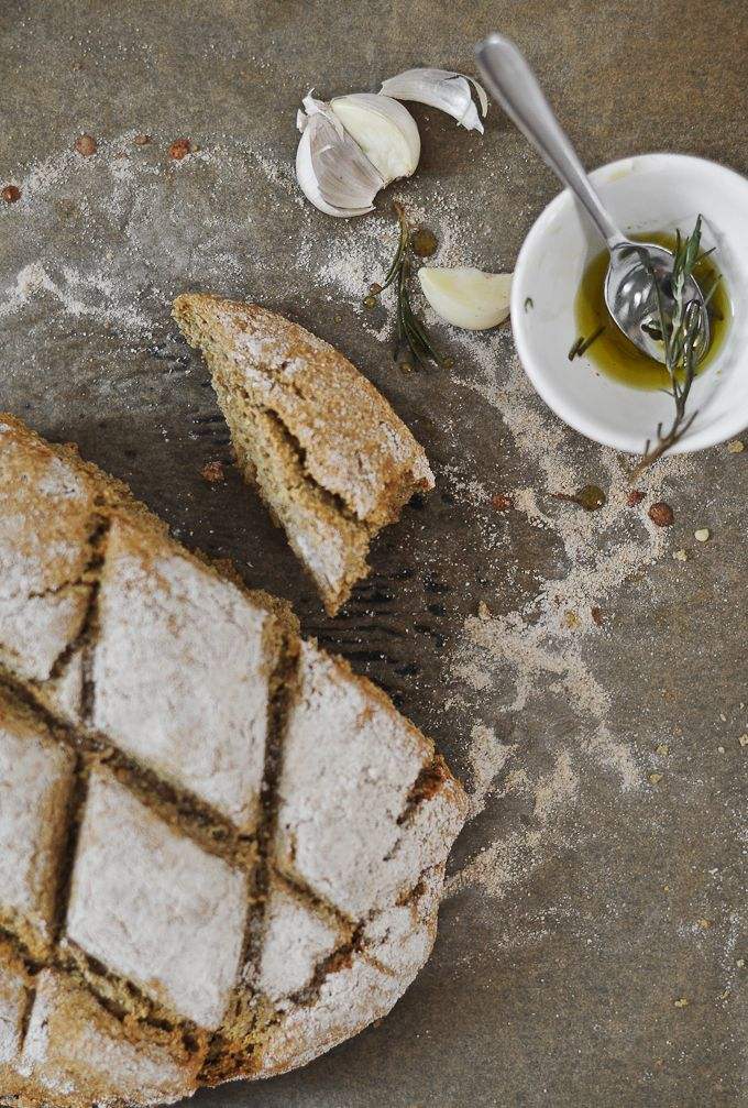 Oat Soda Bread - World Bread Day 2012