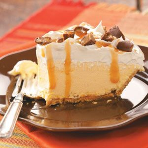 Caramel Banana Ice Cream Pie~ Six ingredients, a prepared graham ...