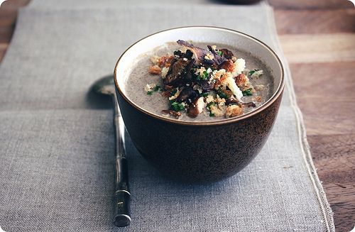 The Real Mushroom Soup | Delicious | Pinterest