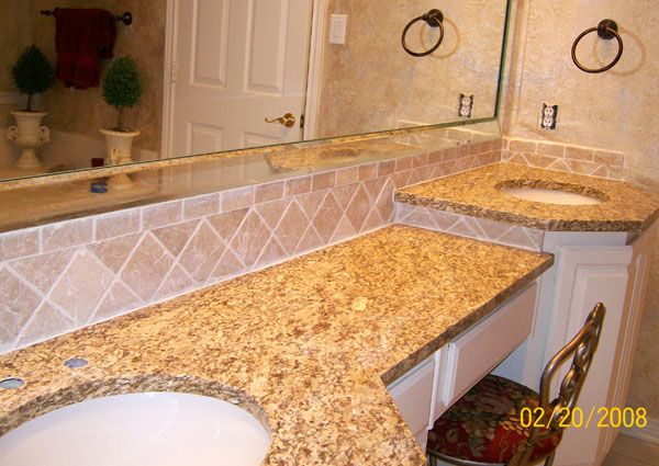 santa cecilia granite backsplash ideas santa cecilia granite vanity