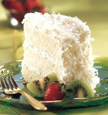 Key Lime Coconut Angel Cake | Key Lime | Pinterest