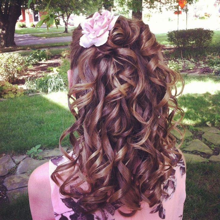 Really cute party hair, 18th birthday? Hair Pinterest
