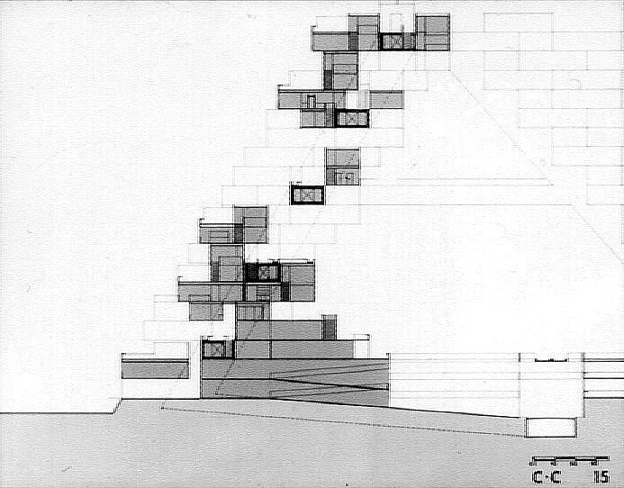 Habitat 67 the growth of traditional blocks pinterest for Habitat 67 architecture
