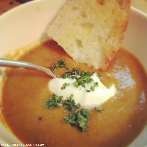 Carrot and lentil soup | {soups + salads} | Pinterest