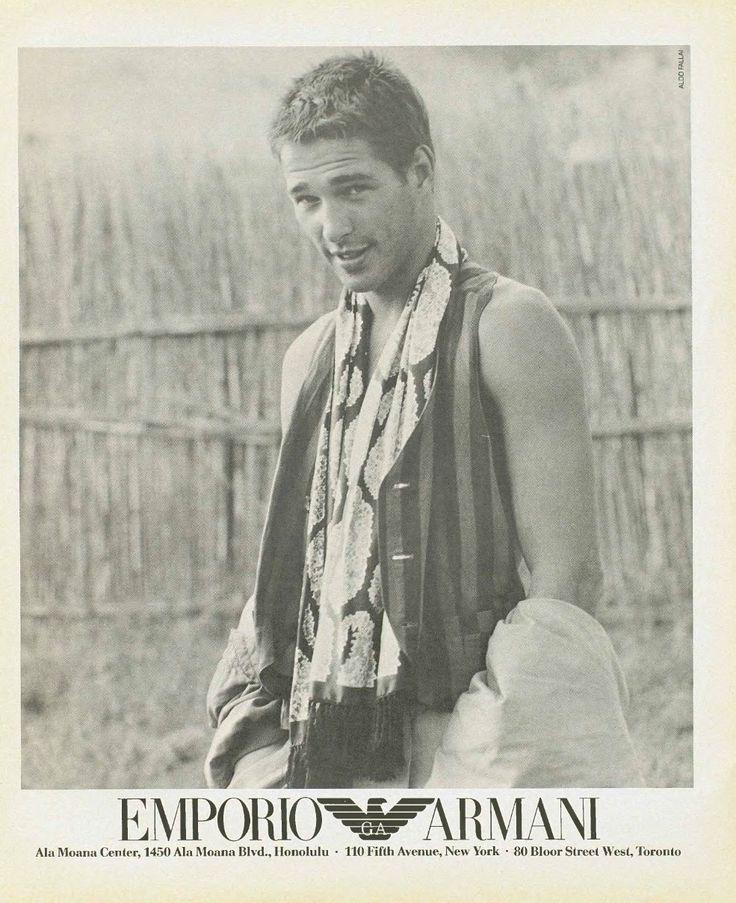 Armani Male Models