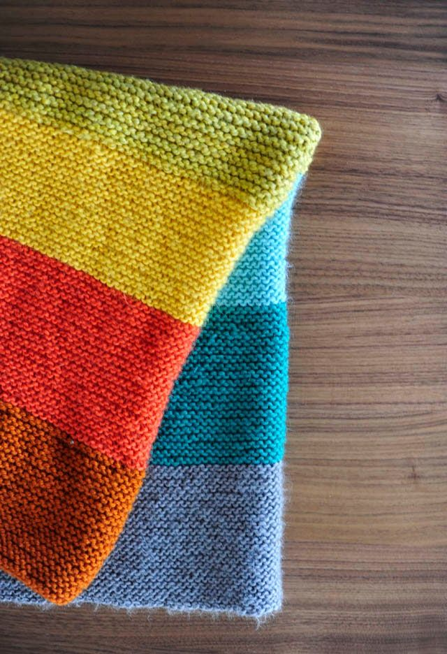 Knit And Purl Stitch Baby Blanket : Purl Soho Baby Blanket, super easy! Knit & Crochet Pinterest