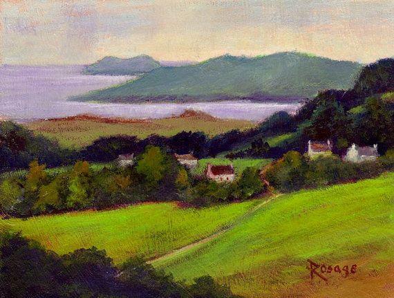 "Irish Landscape... ""Ireland's Western Shore"" by Bernie Rosage Jr. on ..."