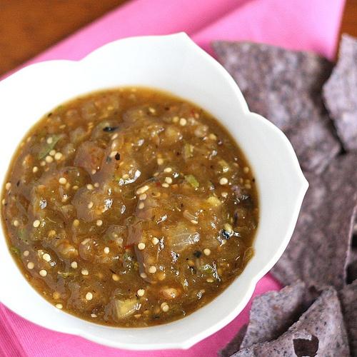 Tomatillo-Chipotle Salsa