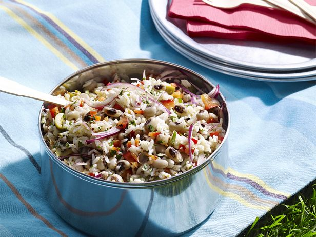 Black-Eyed Pea-Basmati Salad from FoodNetwork.com - This is a ...