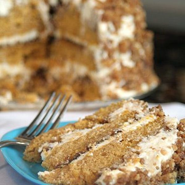 Pumpkin Crunch Cake. | Cakes, Pies,Puddings and Cobblers Recipes | Pi ...