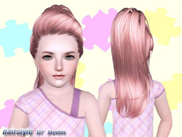 Child Sims 4 Hair Newhairstylesformen2014 Com