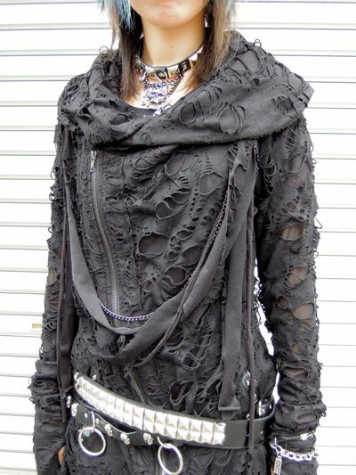 Japanese punk style haori (japanese jacket)  I want a hoodie made like this !!!