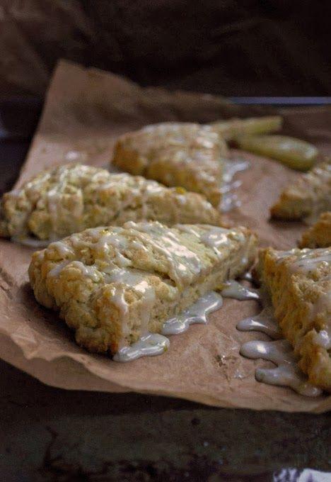 Rosemary Lemon Buttermilk Scones | Pass the Cocoa