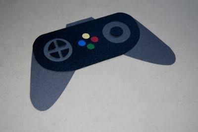 Crochet Xbox Controller : Xbox controller card Scrapbooking Ideas Pinterest