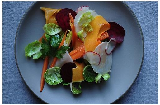 bagna cauda salad | salads | Pinterest