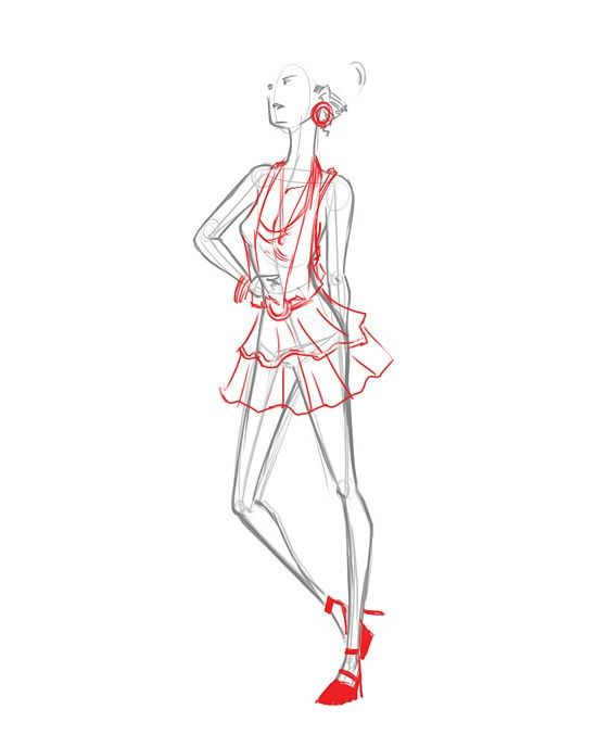 How To Draw Fashion Figures Figure Drawing Tutorial