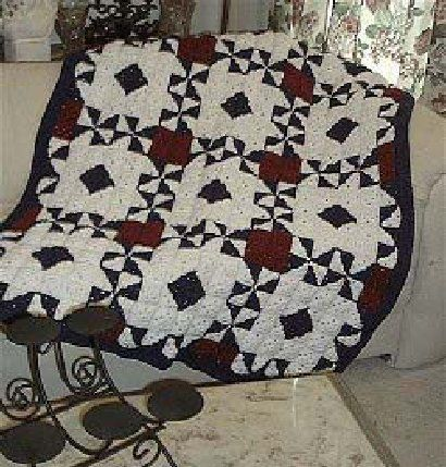 Free Crochet Pattern - Around the World Quilt from the