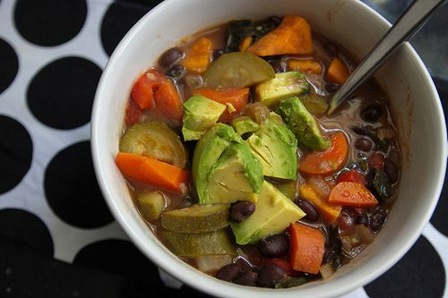 one of my favorite soups :: black bean and sweet potato soup (vegan ...