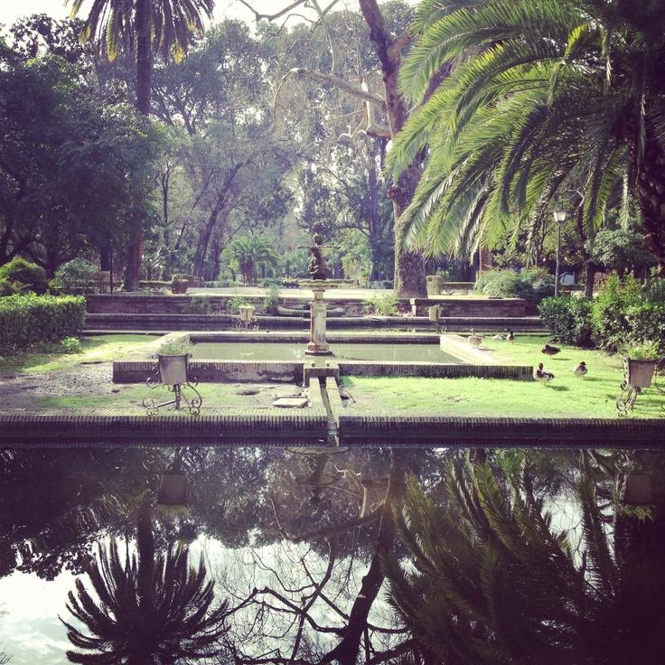 El parque de Maria Luisa @Sevilla