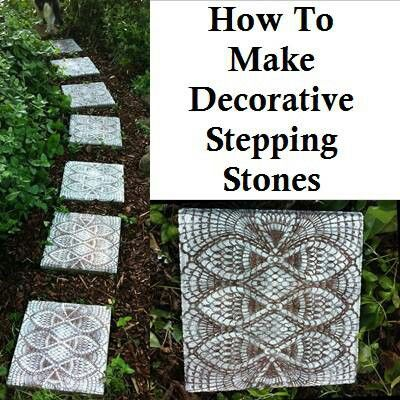 Decorative Stepping Stones Ms Patti 39 S Classroom Pinterest