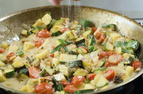 Farfalle with Zucchini | Recipe