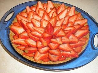 Strawberry cheese pie | Food | Pinterest
