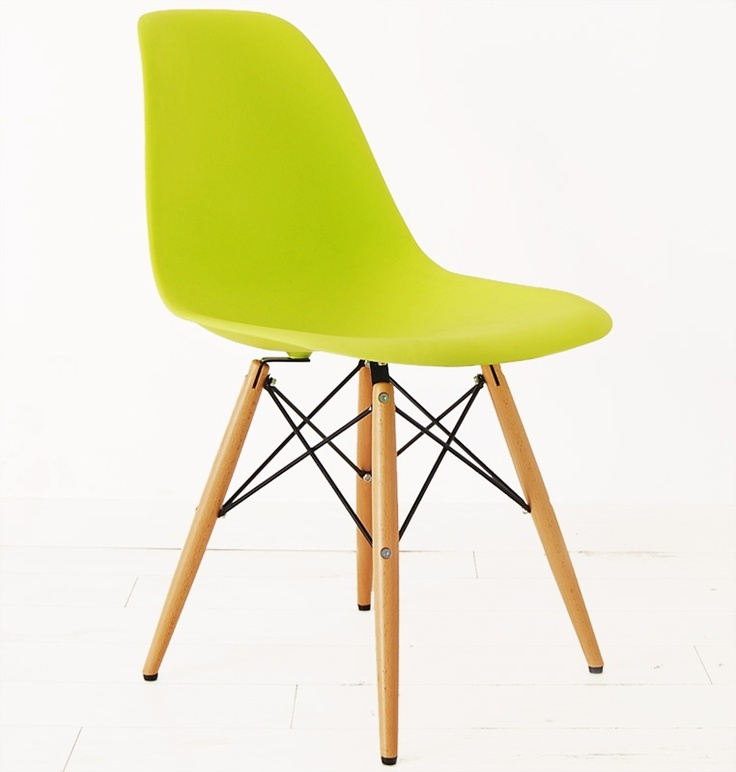 dsw eames plastic side chair in green home goodies pinterest
