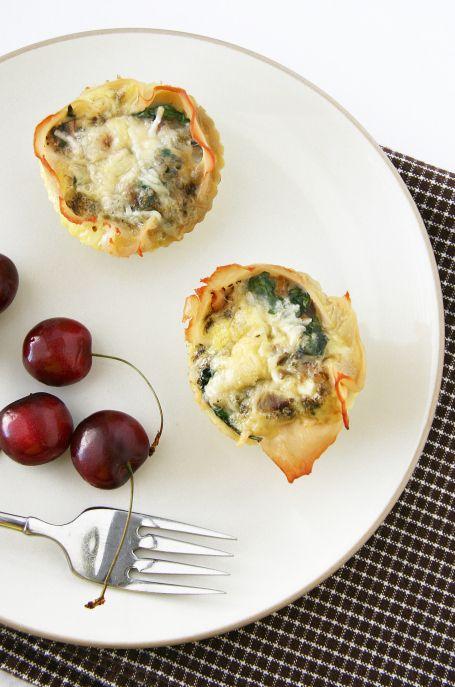 Italian-Style Baked Egg Cups | Breakfast & Brunch | Pinterest