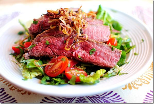 Grilled Thai Beef Salad | Food | Pinterest