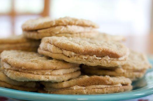 Homemade Nutter Butters | Desserts | Pinterest