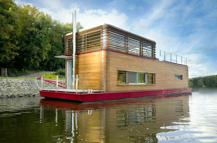 Tiny house boat humble homes pinterest - Around america in a tiny house ...