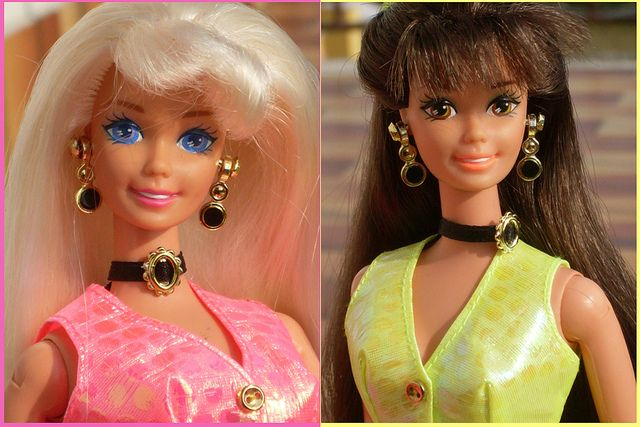 Cut And Style : Cut and Style Barbie...I had the blonde one Kalli had the brunette one ...