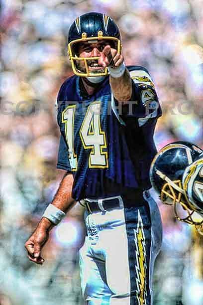 Dan Fouts San Diego Chargers Pinterest