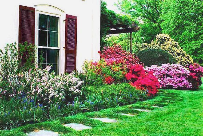 landscaping around the house garden and outdoor ideas