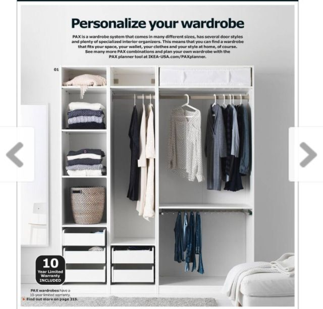 Ikea need a closet system home design pinterest for Ikea wardrobe systems