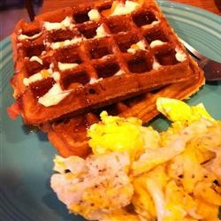 Brown Sugar Bacon Waffles Allrecipes.com- Made these this morning and ...