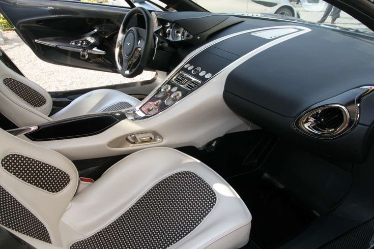 aston martin one 77 interior switching gears