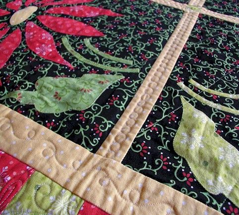 The Free Motion Quilting Project: Heart and Feather