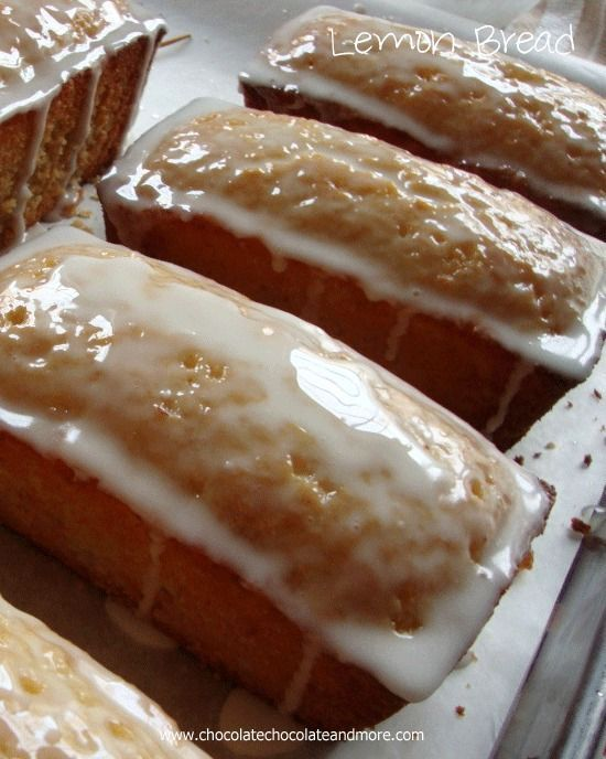 Lemon Bread-perfect with an afternoon cup of tea. Also makes a great ...