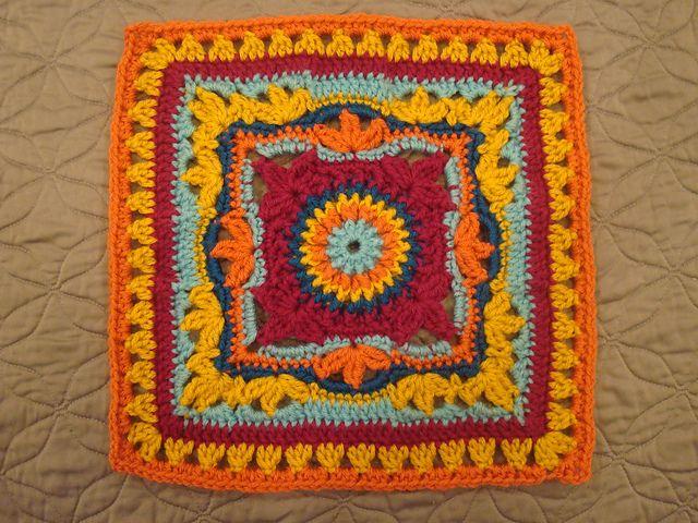 Ravelry: Vannas Choice Fan Club crochet squares Pinterest