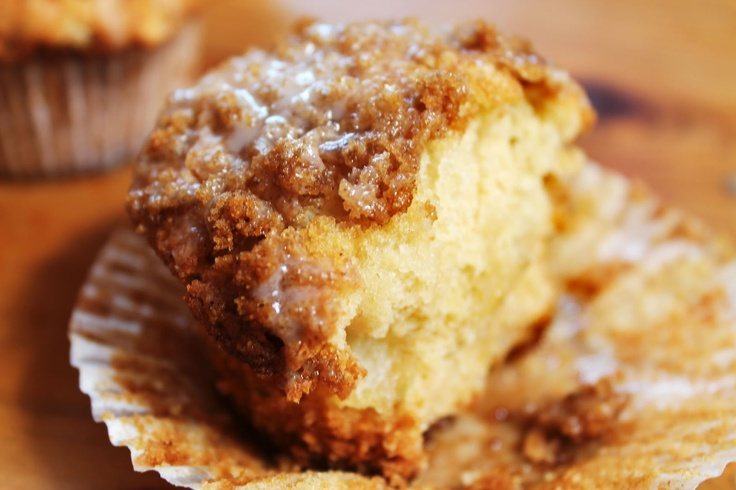 Cinnamon crumble apple muffin. I made these - added some finely ...