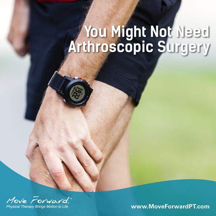 You Might Not Need Arthroscopic Surgery