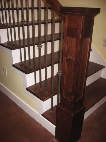 Best Craftsman Style Banister No Place Like Home Great Rooms 640 x 480