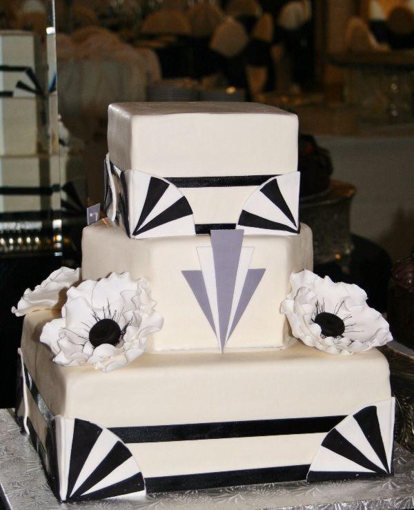 Art Deco Wedding Cake Images : Art deco wedding cake My Wedding Ideas! ? Pinterest