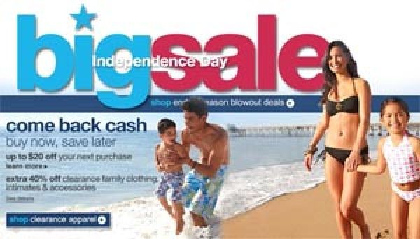 4th of july sale at sears