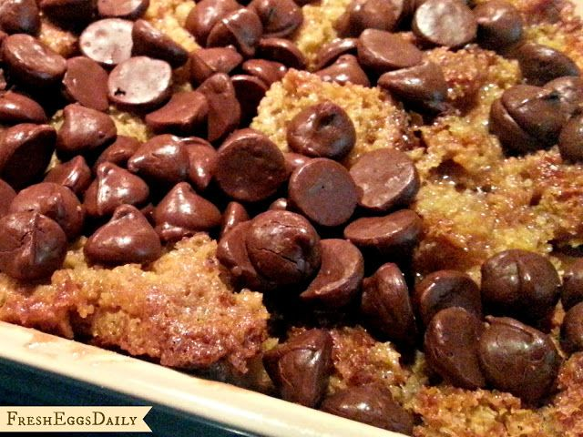 Easy Chocolate Chip Bread Pudding